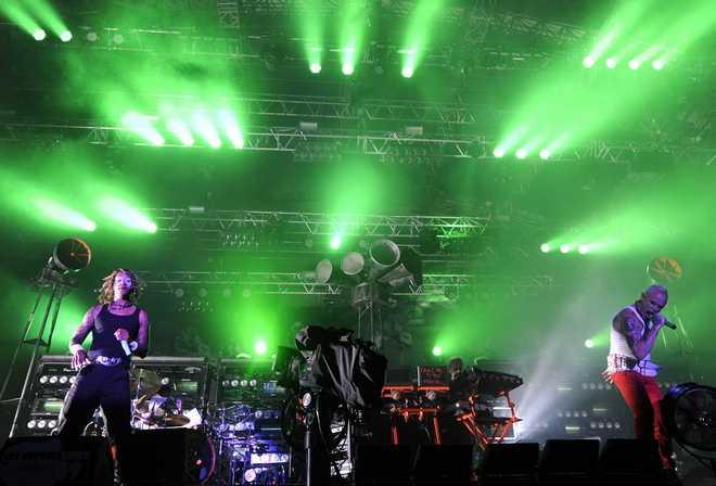 BELFORT :Prodigy perform live at Eurockeennes