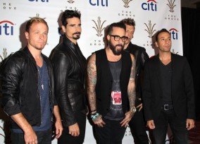 The Backstreet Boys At The Grove Citi Concert Series