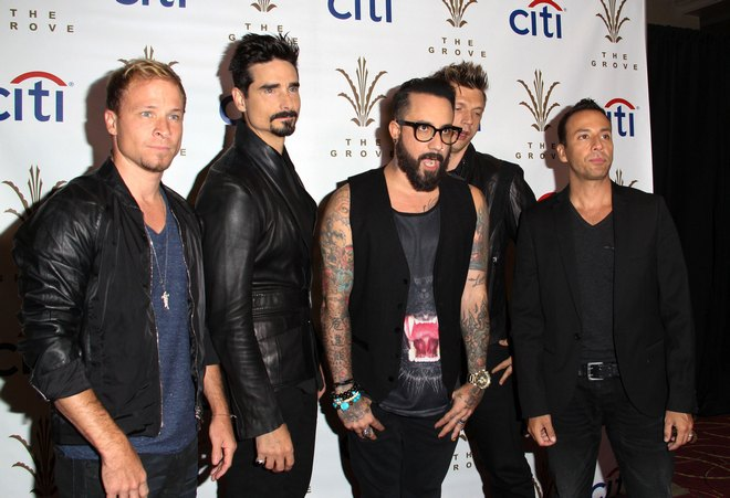 The Backstreet Boys At The Grove Citi Concert Series