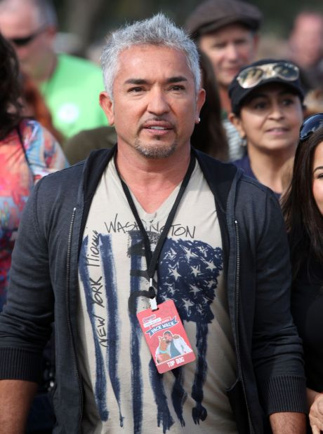Cesar Millan At The Second Annual Family Pack Walk