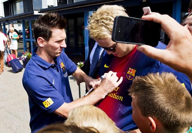 Norway Soccer Barcelona