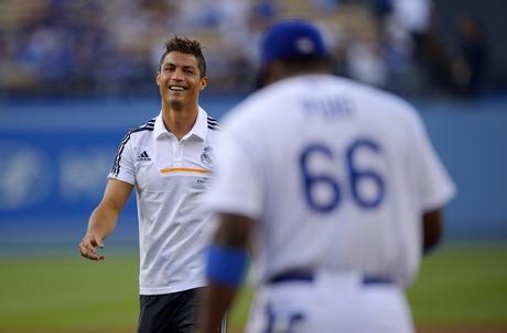 Cristiano Ronaldo, Yasiel Puig