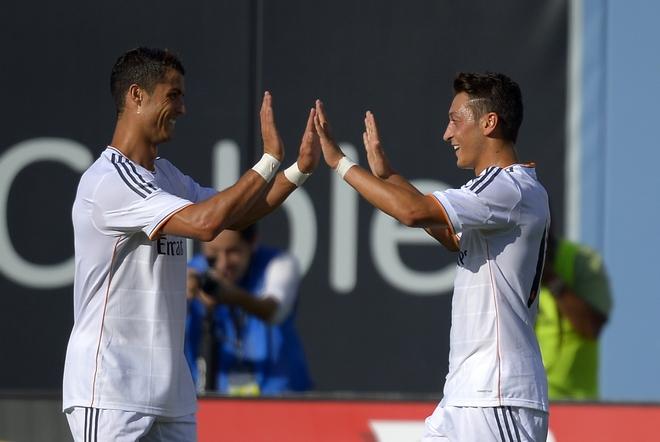 Mesut Ozil, Cristiano Ronaldo