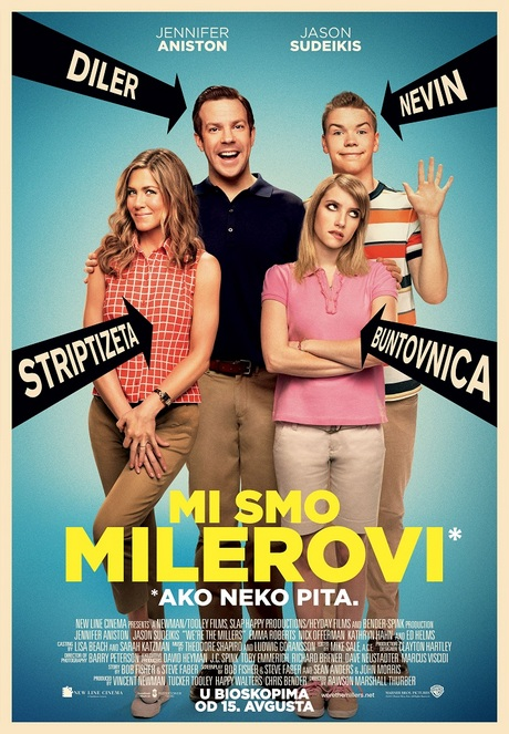 We're the Millers_plakat Smanjeno