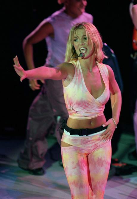 "BRITNEY SPEARS WAS PROMOTING HER NEW ALBUM""OOPS!...I DID IT AGAIN"" IN PARIS THIS"