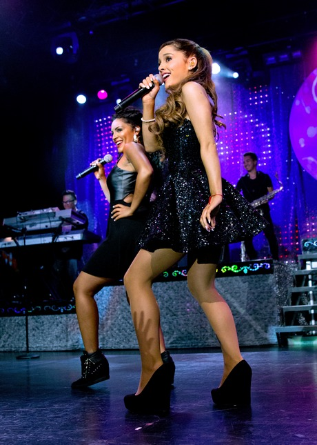 Ariana Grande in concert at Best Buy Theater, NYC