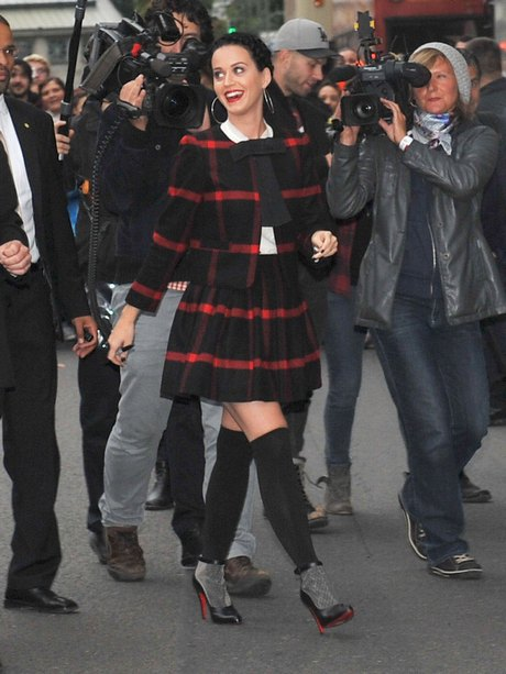 Katy Perry Heading To Her Perfume Launch ***NO WEB/BLOG USE***