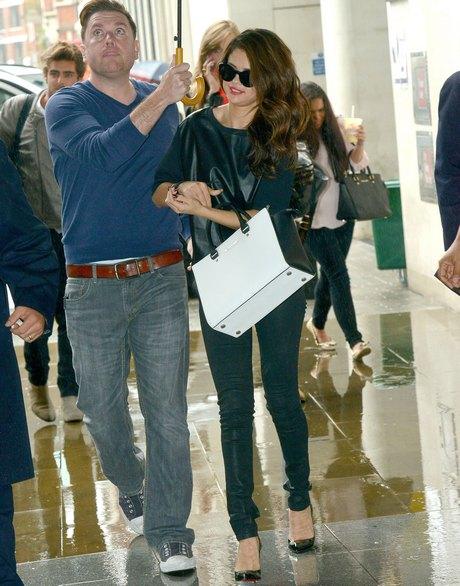 Selena Gomez Drops By The BBC Radio 1 Studios