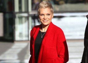 "Jessie J Stops By ""BBC Breakfast"""