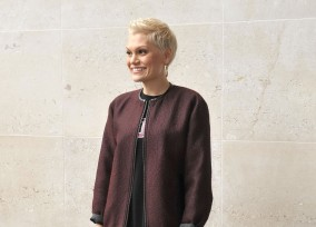 Jessie J Stops By The BBC Radio 1 Studios