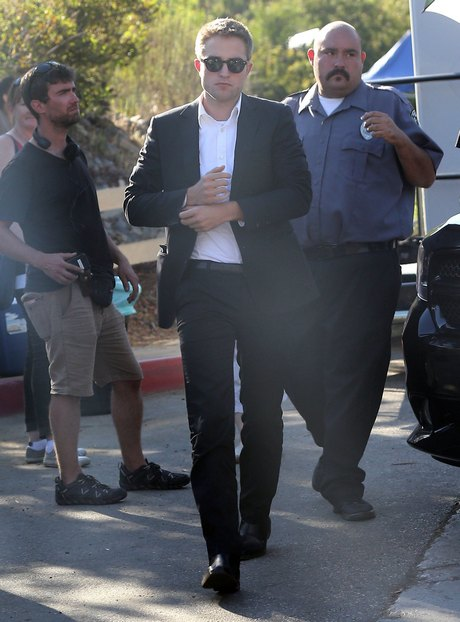 Stars On The Set Of 'Maps To The Stars'