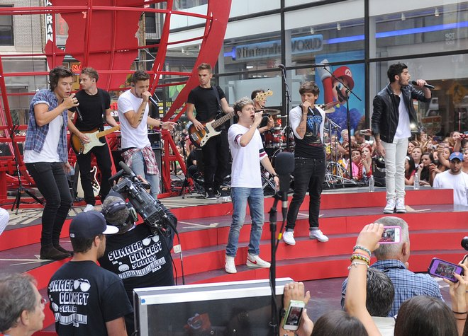 "One Direction Performs On ""Today"" Show"