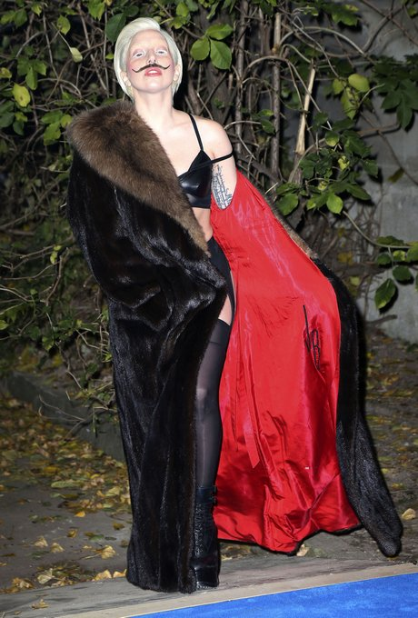 Lady Gaga Prelistening Party For Her New CD 'Artpop'