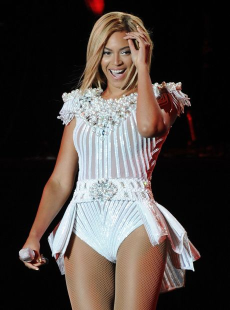 Beyonce Performing At The V Festival