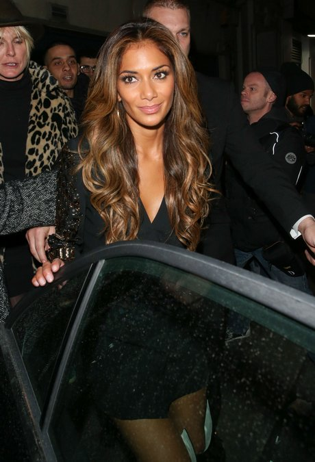 Celebs On A Night Out At Cafe De Paris