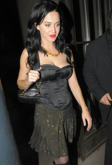 Katy Perry & John Mayer At The Shoreditch House