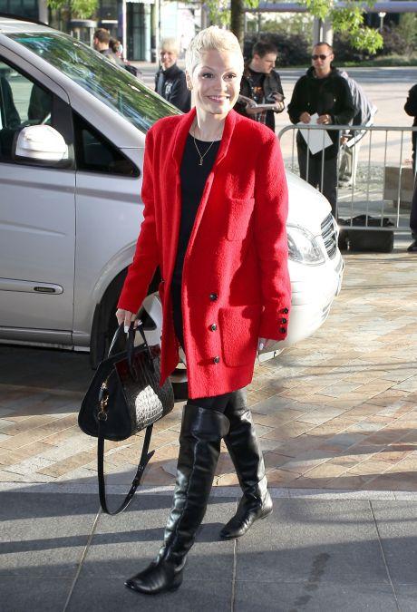 """Jessie J Stops By """"BBC Breakfast"""""""