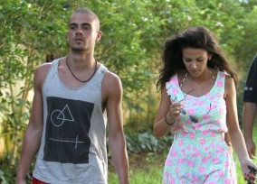 Michelle Keegan and Max George Enjoy Some Sailing