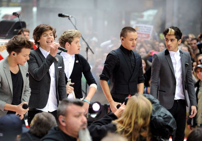 "One Direction Performs On The ""Today"" Show"