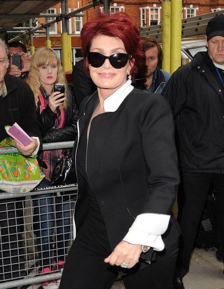 Sharon Osbourne Visits BBC Radio Two Studios