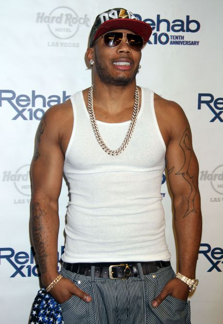 Nelly Hosts The Rehab Pool Party