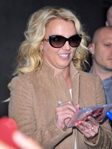 Britney Spears Visits BBC Radio One
