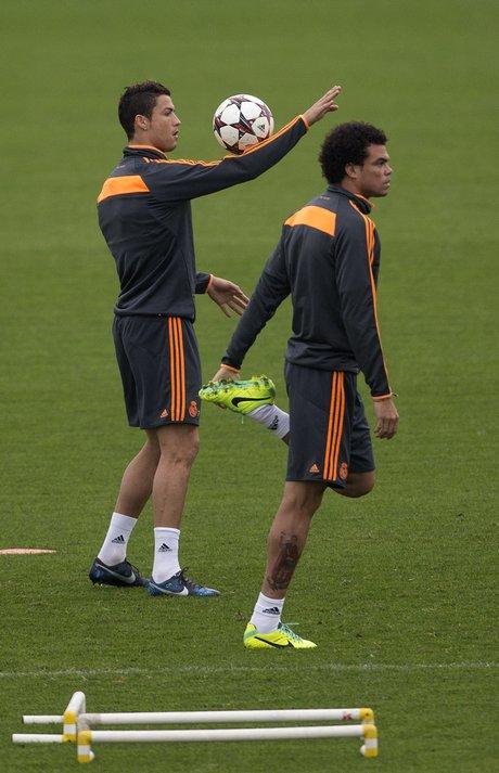 Cristiano Ronaldo, Pepe