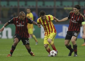 Lionel Messi, Nigel de Jong, Riccardo Montolivo