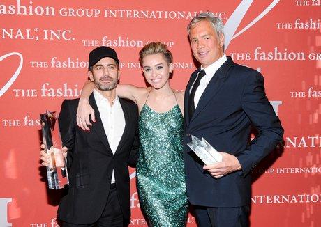 Marc Jacobs, Miley Cyrus, Robert Duffy