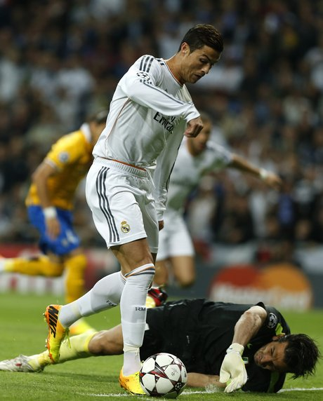 Cristiano Ronaldo, Gianluigi Buffon