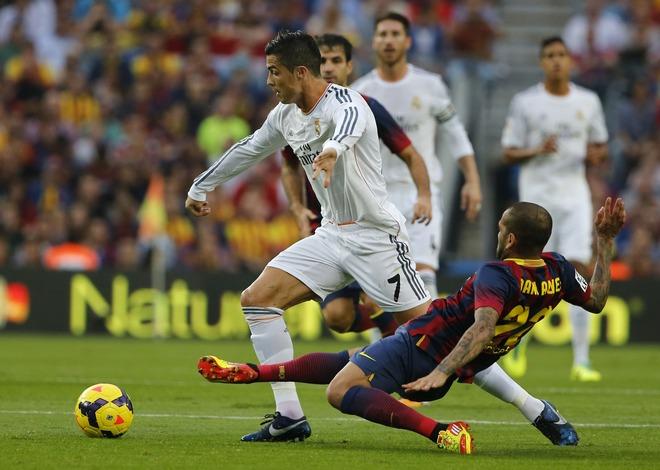 Cristiano Ronaldo, Daniel Alvez