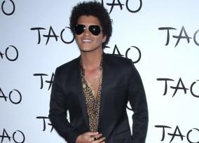 Bruno Mars hosts a night at Tao Las Vegas