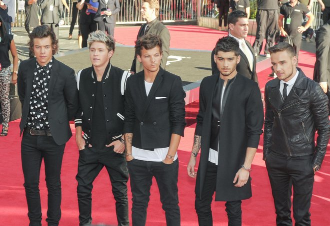 London  premiere of One Direction 'This Is Us'