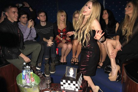 Avril Lavigne Album Release Party Sponsored By 138 Water