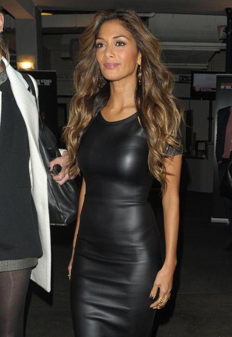 Celebrities Seen Leaving 'Celebrity Juice' In London