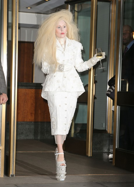 Lady Gaga Is Looking Spooky In NYC