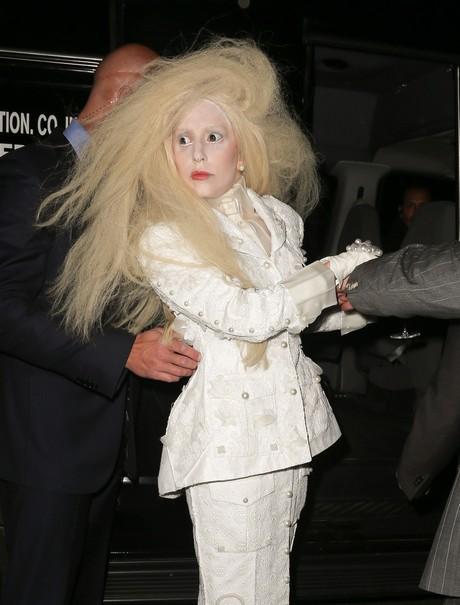 Lady Gaga Is Looking Spooky In NYC