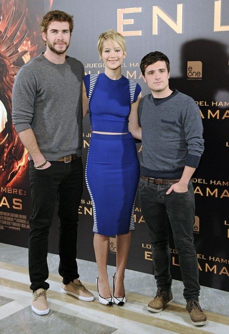 'The Hunger Games: Catching Fire' Madrid Photocall