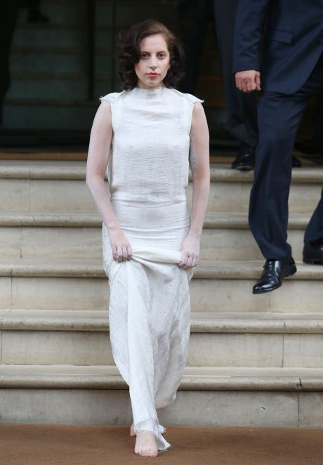 Lady Gaga Looks Normal In London