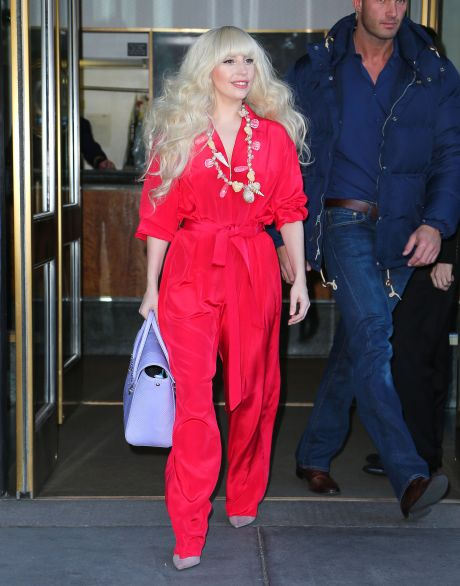 Lady Gaga Is The Lady In Red