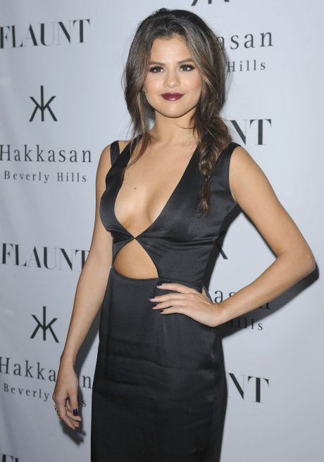 Selena Gomez at Flaunt Magazine En Garde Issue launch party in LA