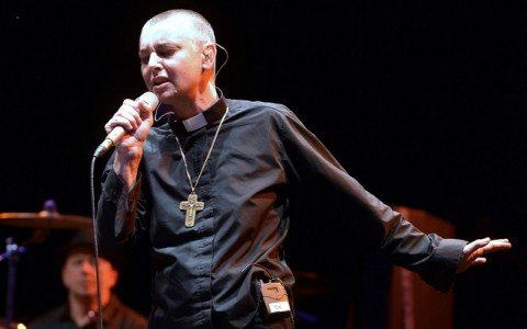 Sinead O'Connor Performing At The Arconati Music Festival 2013