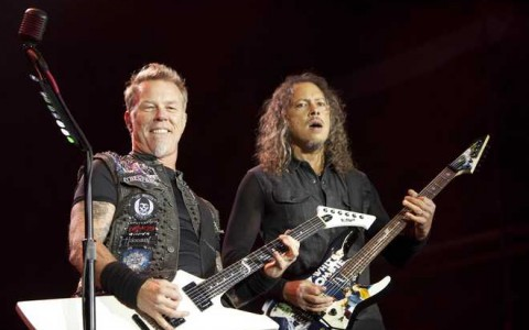 PARIS : Metallica perform in Paris