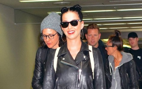 Katy Perry Arrives In Tokyo