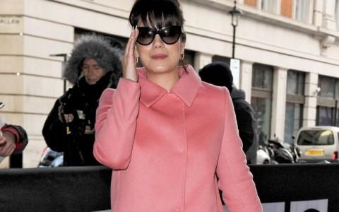 Lily Allen Visits BBC Radio One Studios