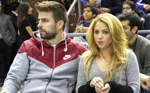 Shakira & Gerard Pique Attend FC Barcelona vs Fenerbahce Ulker Istanbul Game