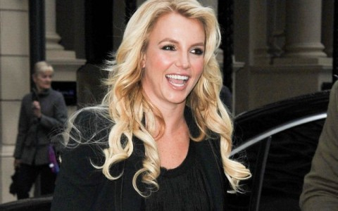 Britney Spears Visits Captial FM Radio