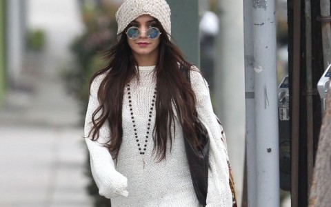 Vanessa Hudgens Out Shopping In Beverly Hills
