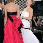 Smeh na crvenom tepihu: Jennifer Lawrence i Taylor Swift zbijale šale pred kamerama!