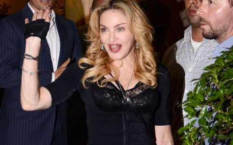 Madonna Opens A Hard Candy Gym In Rome